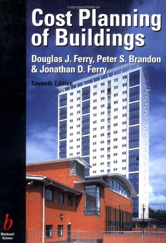 Cost Planning of Buildings By Peter S. Brandon