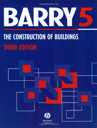 Construction of Buildings: Building Services v. 5 By R. Barry