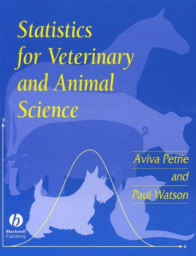 Statistics for Veterinary and Animal Science by Aviva Petrie