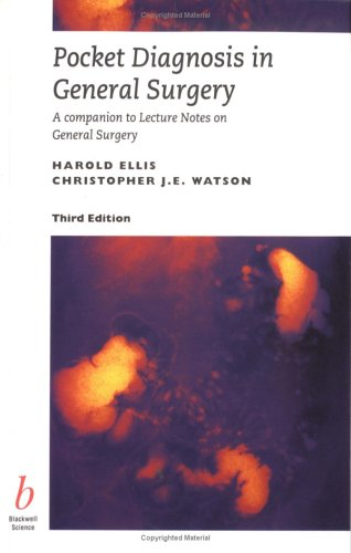Pocket Diagnosis in General Surgery By H. Ellis
