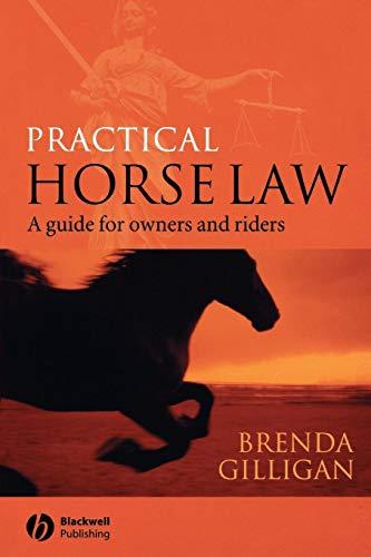 Practical Horse Law By Brenda Gilligan