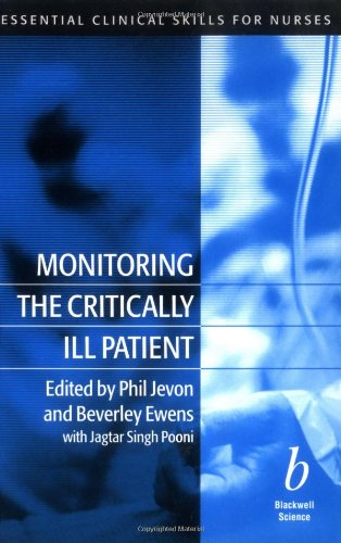 Monitoring the Critically Ill Patient By MR Phil Jevon