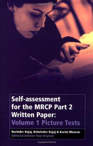 Self-Assessment for the MRCP Part 2 Written Paper By Narinder Bajaj
