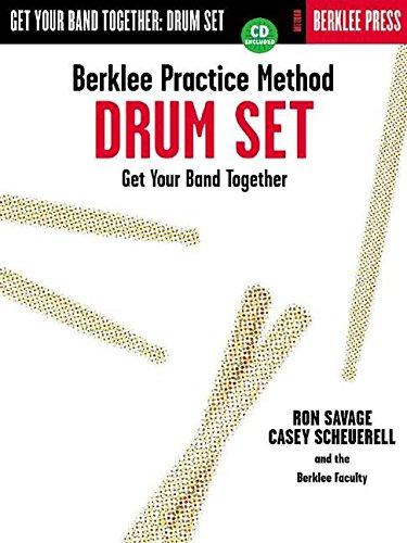 Berklee Practice Method Drum Set By Ron Savage