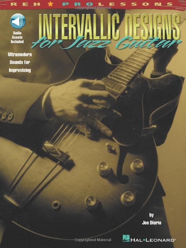 Intervallic Designs for Jazz Guitar by Joe Diorio