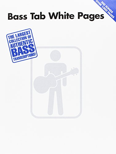 Bass Tab White Pages by Hal Leonard Corp