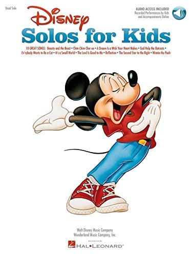 Disney Solos For Kids (Book/Online Audio) By Hal Leonard Publishing Corporation