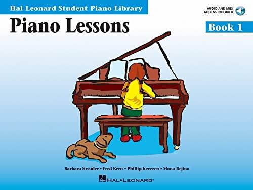 Hal Leonard Student Piano Library: Piano Lessons Book 1 by Hal Leonard Student Piano Library