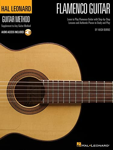 Hal Leonard Flamenco Guitar Method (Book And CD) by Hugh Burns