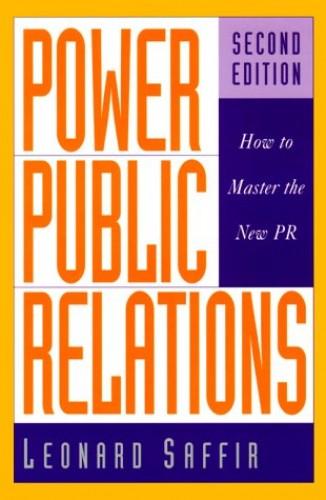 Power Public Relations By Leonard Saffir