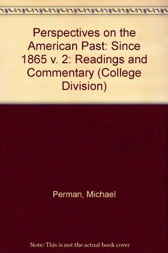 Perspectives on the American Past By Michael Perman