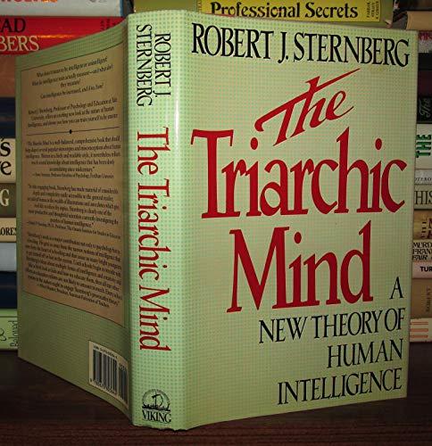 The Triarchic Mind By Robert J. Sternberg