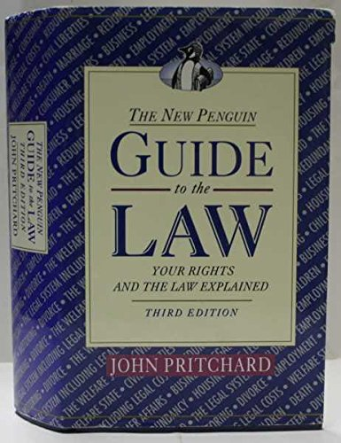 The New Penguin Guide to the Law By John Pritchard