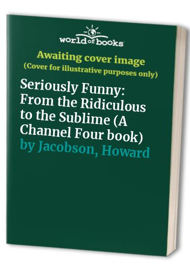 Seriously Funny By Howard Jacobson