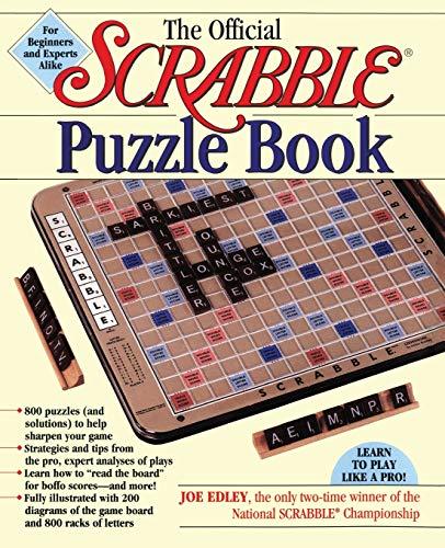 Official Scrabble Puzzle Book (Original) By Joe Edley
