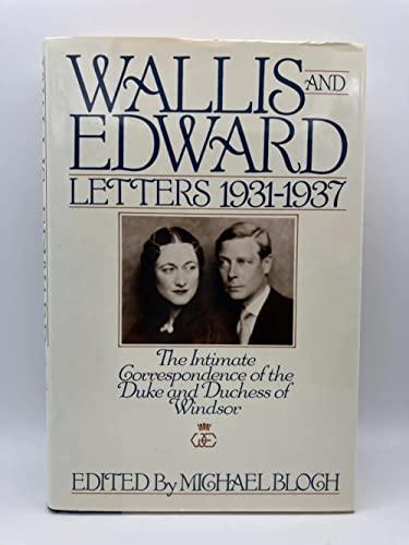 Wallis and Edward By Michael Bloch