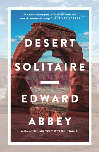 Desert Solitaire By Abbey