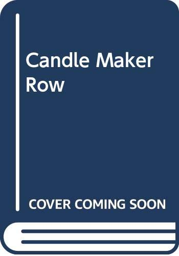Candle Maker Row By Inga Dunbar