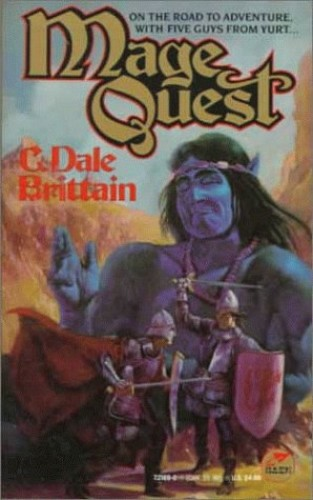 Mage Quest *B By C Dale Brittain