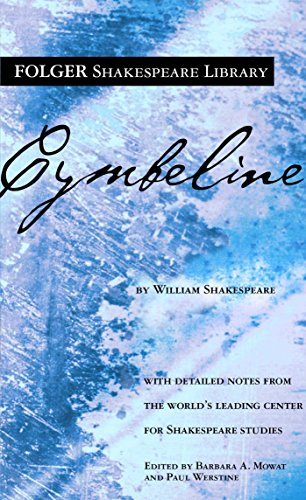 Cymbeline (New Folger Library Shakespeare) By William Shakespeare