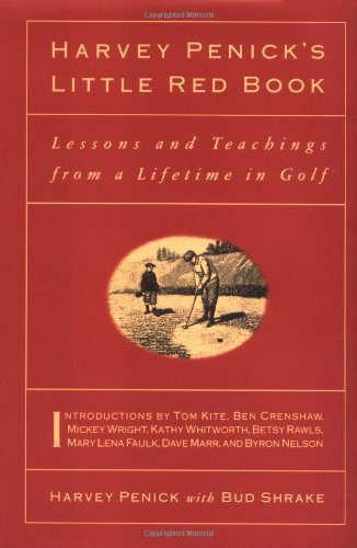 Harvey Penick's Little Red Book By Penick