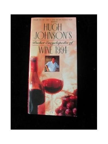 Pocket Encyclopedia Wine 1994 By Hugh Johnson