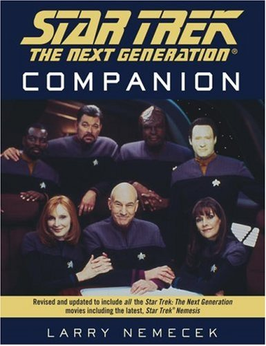 Star Trek: The Next Generation Companion By Larry Nemecek