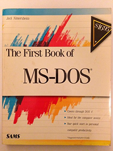 First Book of Ms-DOS By Jack Nimersheim