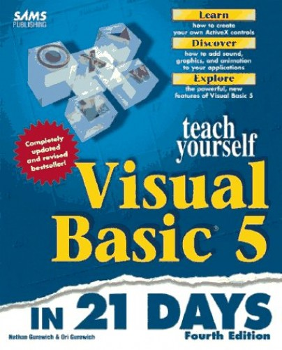 Sams Teach Yourself Visual Basic 5 in 21 Days By Nathan Gurewich
