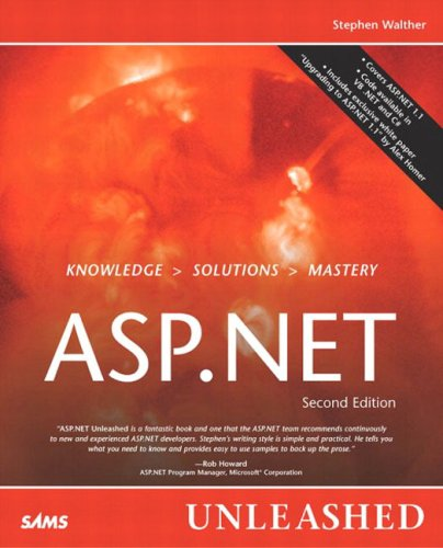 ASP.NET Unleashed By Stephen Walther