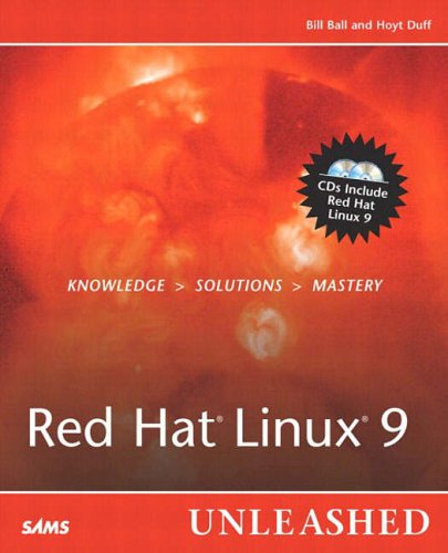 Red Hat Linux 9 Unleashed By Bill Ball