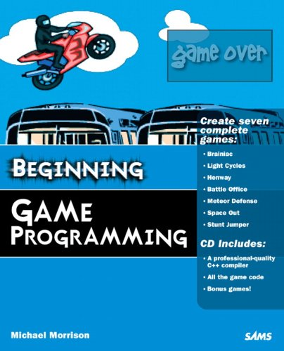 Beginning Game Programming By Michael Morrison
