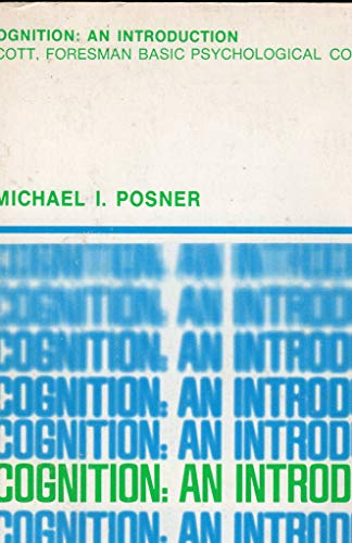 Cognition By Michael I. Posner