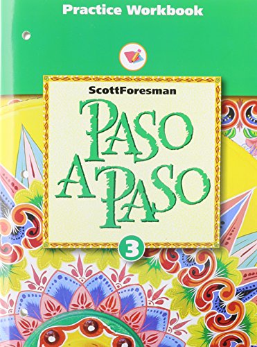 Paso a Paso 1996 Spanish Practice Sheet Student Workbook Level 3 By Addison Wesley Longman