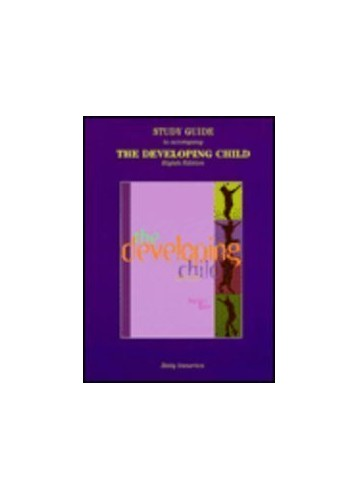 The Developing Child By Betty Sunerton