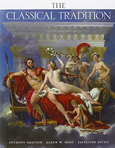 The Classical Tradition By Anthony Grafton