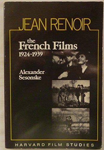 Jean Renoir By Alexander Sesonske