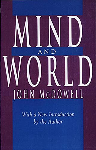 Mind and World By John McDowell