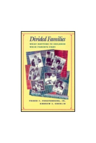 Divided Families By Frank Furstenberg