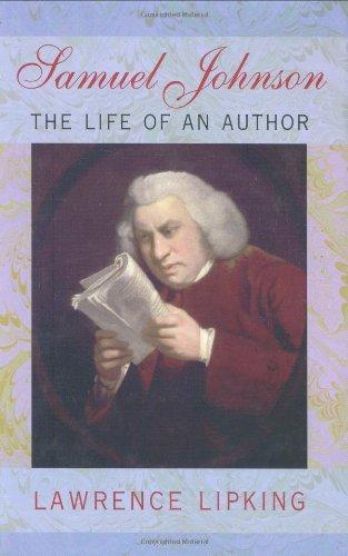 Samuel Johnson By Lawrence Lipking