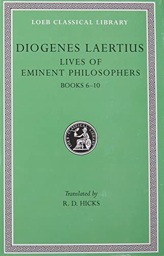 Lives of Eminent Philosophers By Diogenes Laertius