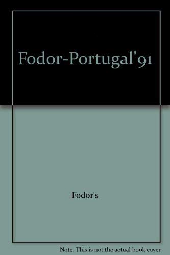 Portugal By Edited by Eugene Fodor