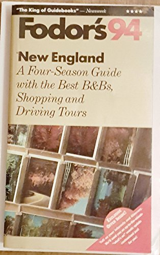 New England By Edited by Eugene Fodor