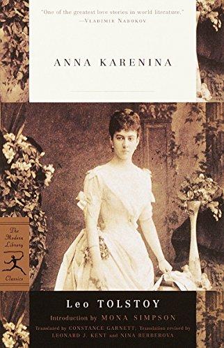 Mod Lib Anna Karenina By Leo Tolstoy