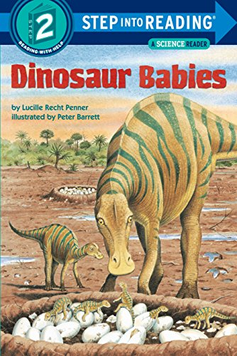 Dinosaur Babies Step Into Reading Lvl 2 By Lucille Recht Penner