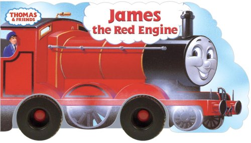 James the Red Engine/Wheel Book By REV W Awdry