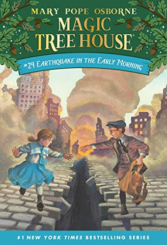 Magic Tree House 24 Earthquake In The Early Morning By Mary Pope Osborne