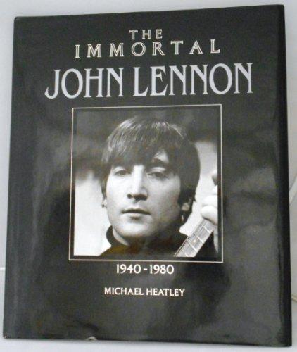 Immortal Lennon (The Immortal Series) By Michael Heatley