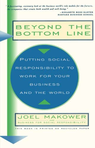 Beyond the Bottom Line By Joel Makower