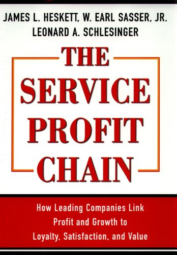 The Service Profit Chain By W. Earl Sasser, Jr.